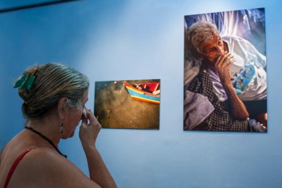 Ana Luiza Shunk, sobrinha de Zé Peixe colaborou bastante para que este trabalho fosse exposto.